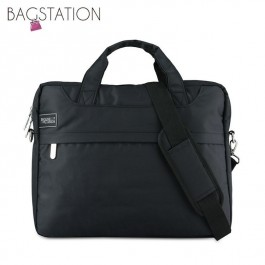 BAGSTATIONZ 2-Way 15.6 Inch Laptop Bag-Black