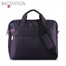 BAGSTATIONZ 2-Way 15.6 Inch Laptop Bag-Purple