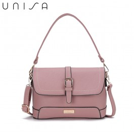 UNISA Saffiano 2-Way Usage Sling Bag-Pink